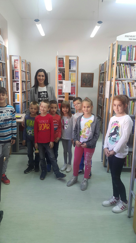 Posjet učenika prvih razreda OŠ Franjo Tuđman