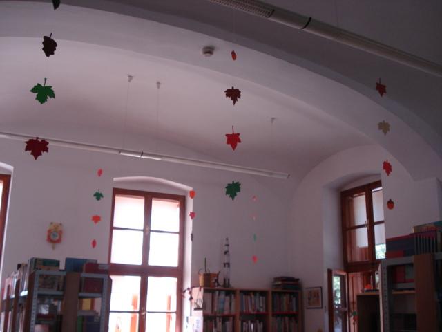 Vesele boje jeseni u knjižnici