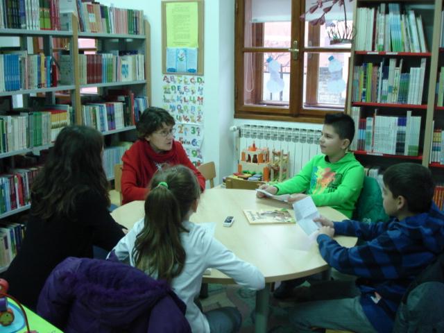 Posjet knjižnici - Željka Horvat-Vukelja
